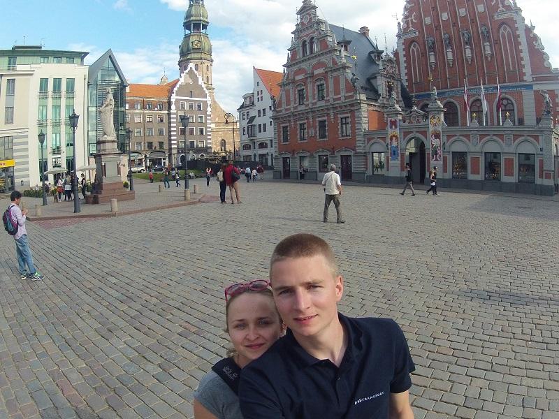 Ryga, Łotwa - Na Nowej Drodze Życia