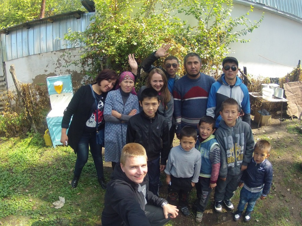 Wizyta u muzłumańskiej rodziny