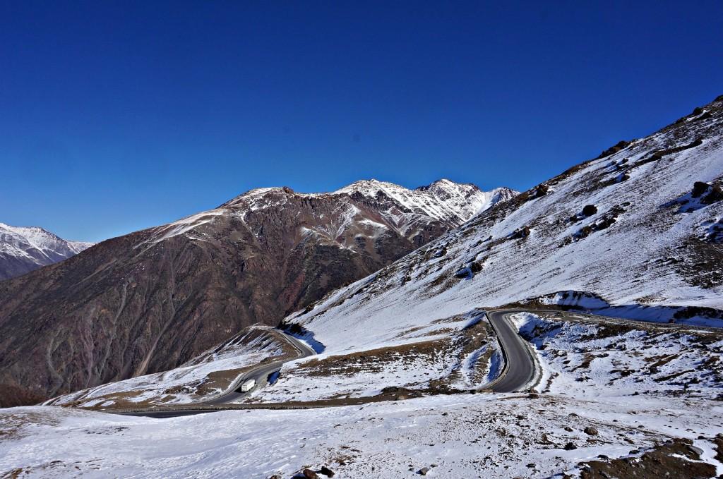 Najwyższy punkt podróży- Kirgistan 2014