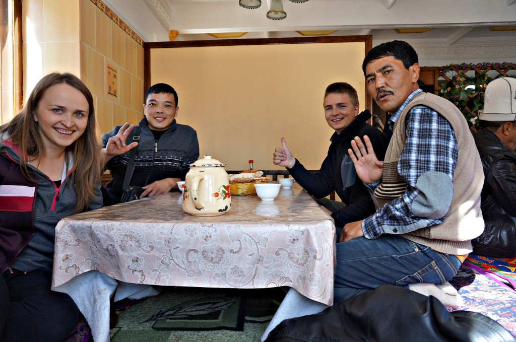 Obiadek na trasie- Kirgistan 2014