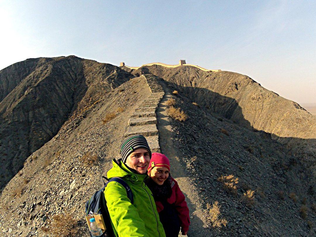 Mur Chińki autostopem