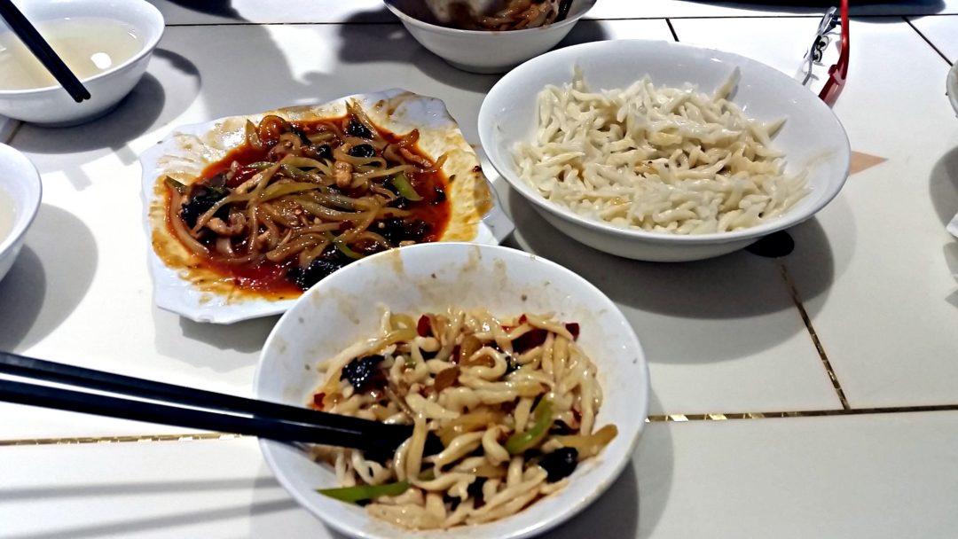 Pyszne jedzonko w Chinach