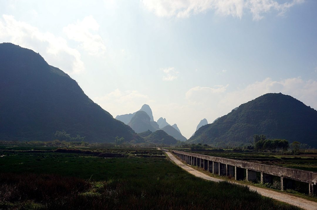 Droga do Yangshuo