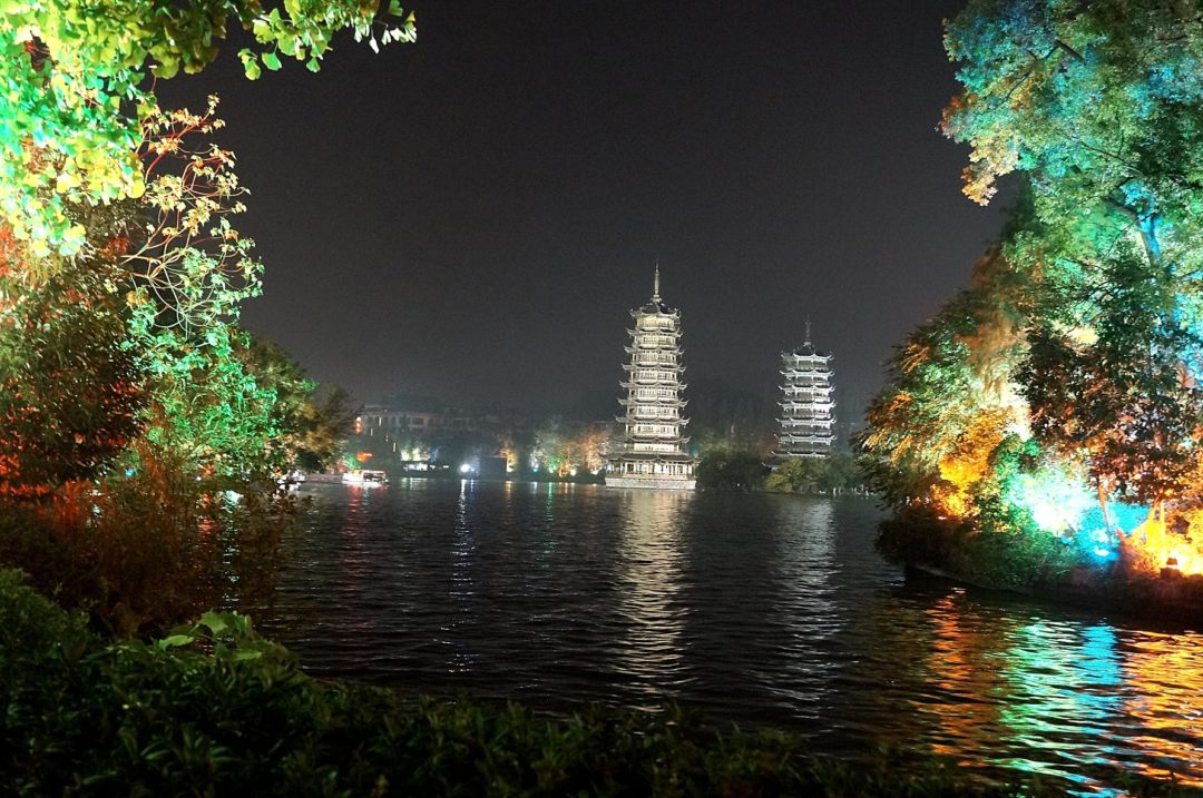 Guilin nocą 1