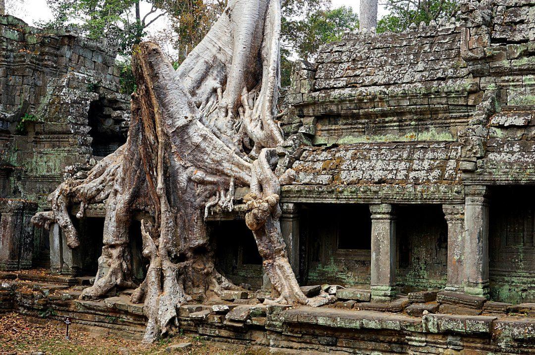 Angkor Wat na motorze