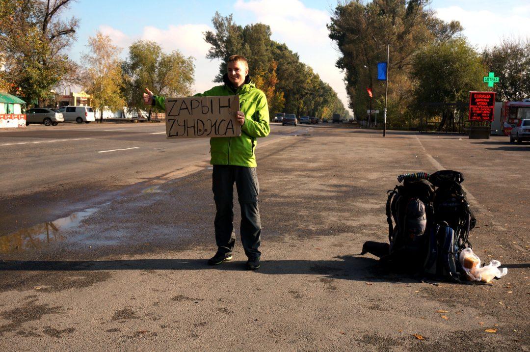 Autotop w Kazachstanie - Na Nowej Drodze Życia
