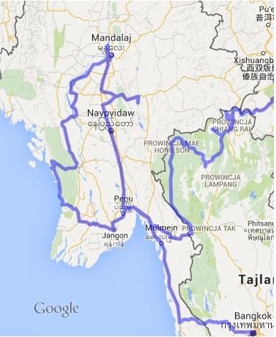 Autostop w Birmie - Na Nowej Drodze Życia