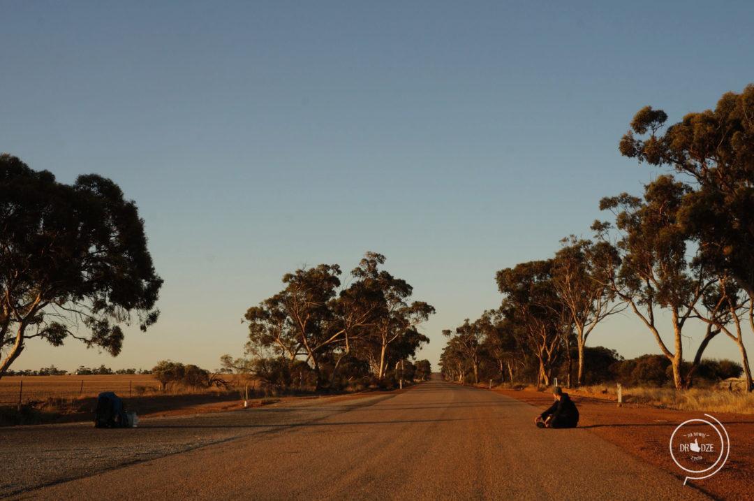 Kocham Australię - autostop w Australii.