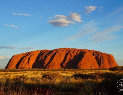 Autostop Australia- Uluru