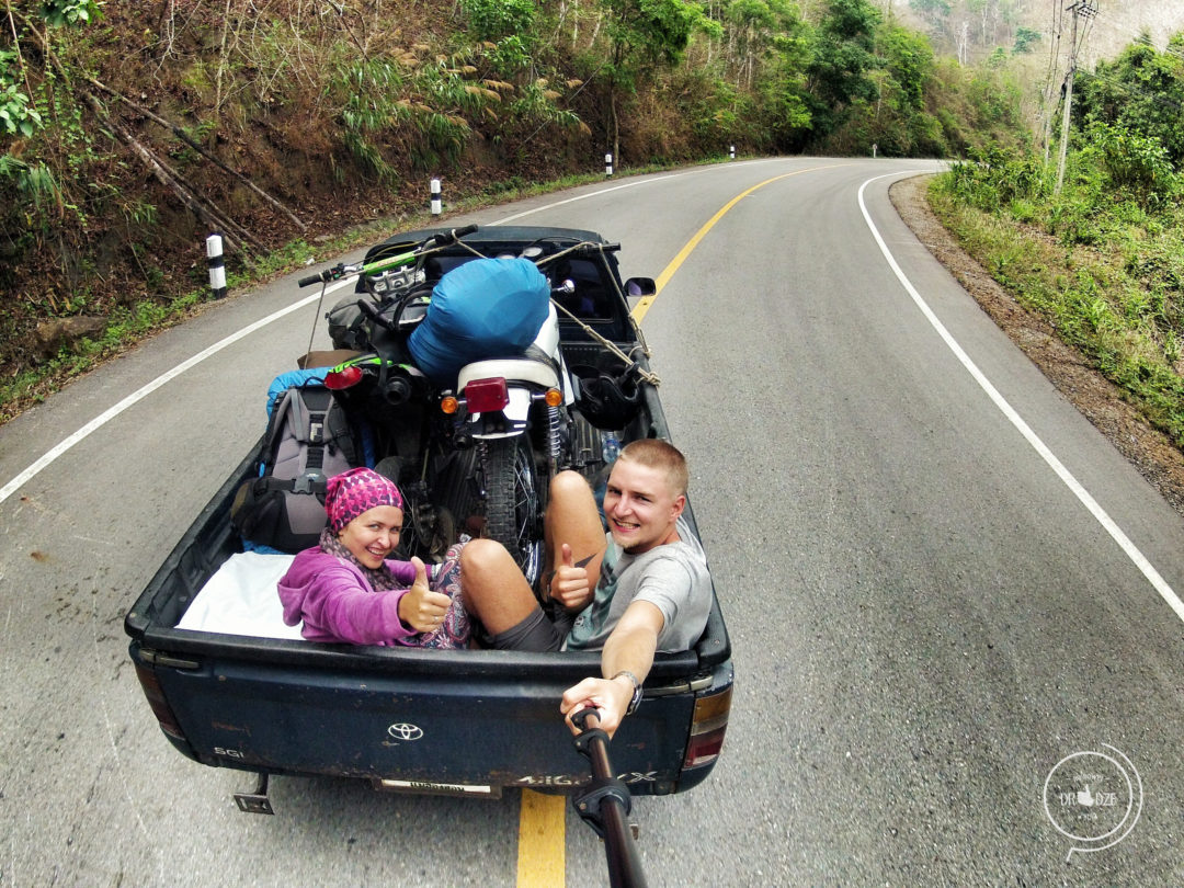 Autostop w Tajlandii - Na Nowej Drodze Życia