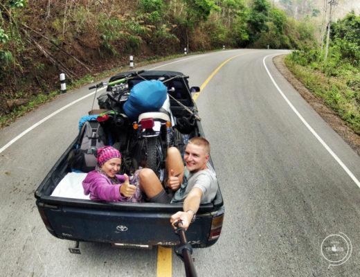 Autostop w Tajlandii- Na Nowej Drodze Życia
