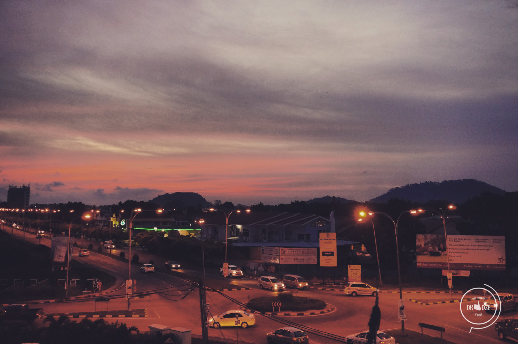 Autostop na Borneo - Tawau