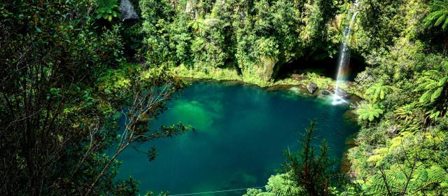 Ryzykowny Omanawa Waterfall – Nowa Zelandia jakiej nie znasz