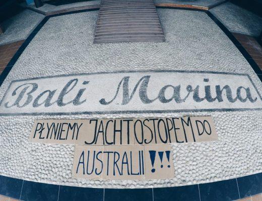 Jachtostop: Bali – Australia