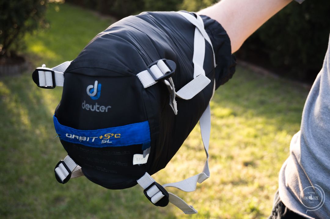 Śpiwór w podróż - Deuter Orbit +5