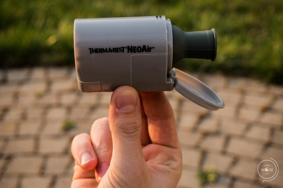 Pompka Therm a Rest NeoAir Mini - recenzja