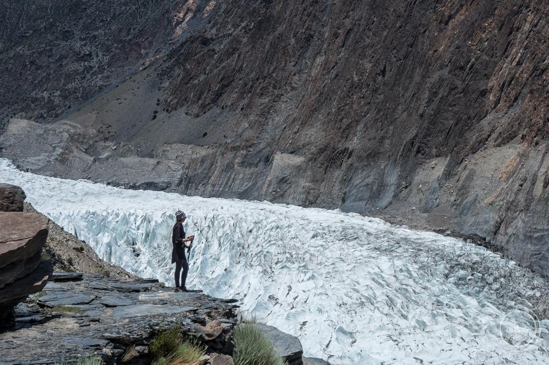 Pakistan co zobaczyć - Lodowiec Passu