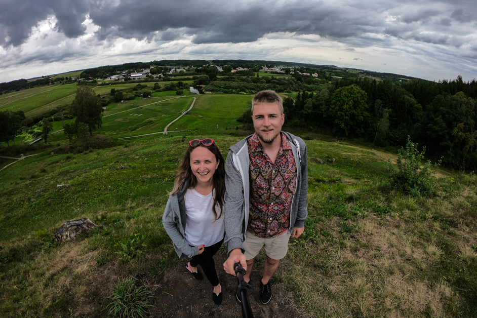 Litwa co zobaczyć -Kopiec Kartena- Na Nowej Drodze Życia