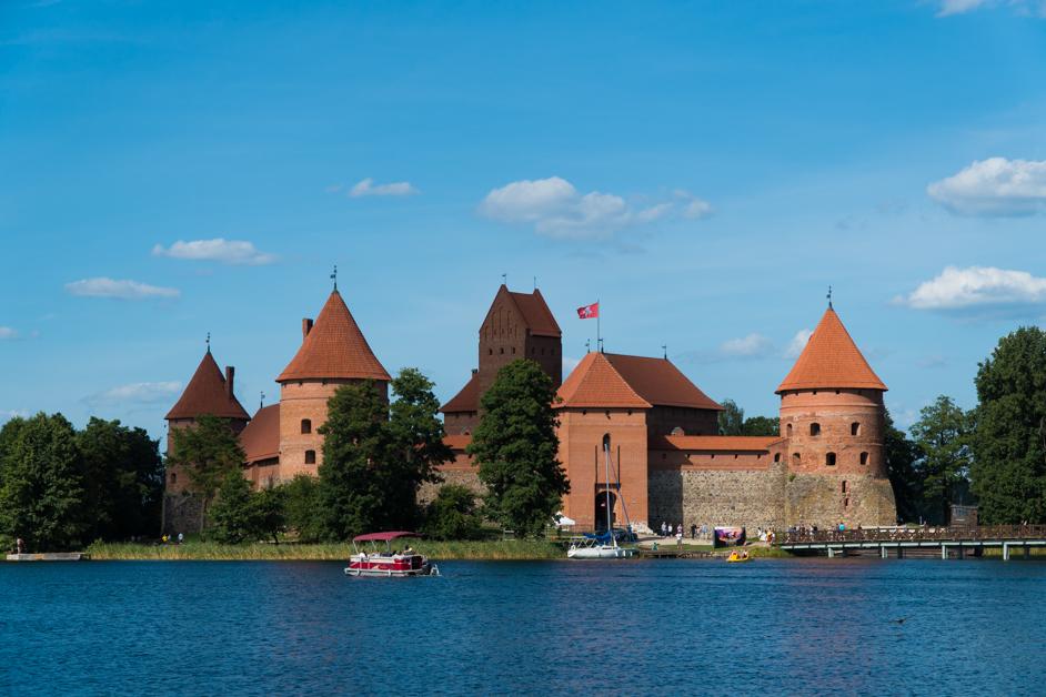 Litwa co zobaczyć - Zamek w Trokach