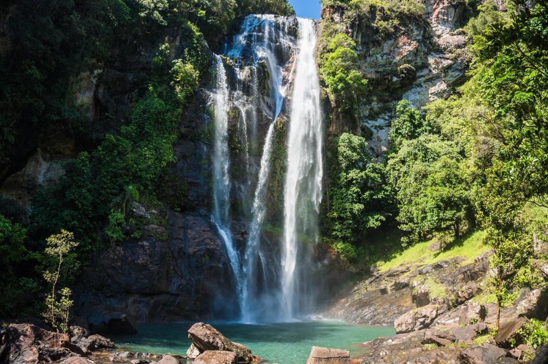 Flores co zobaczyć - Indonezja - Wodospad Cumca Rami