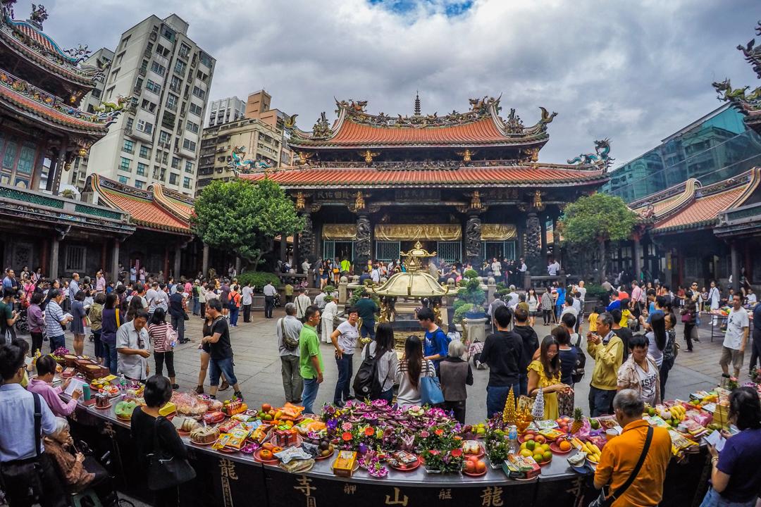 Tajwan - co warto zobaczyć? - Świątynia Longshan