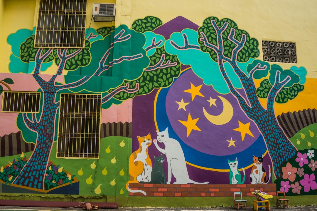 Co zobaczyć na Tajwanie? Street art