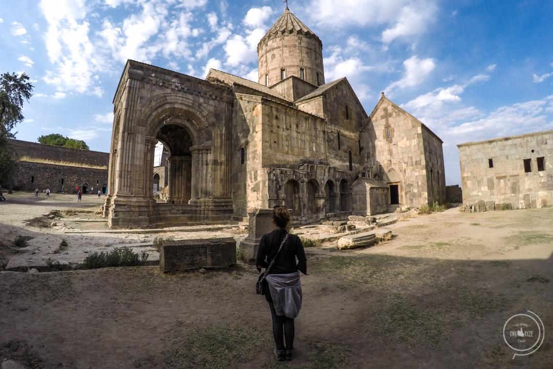 Klasztor Tatev w Armenii - zabytki Armenii
