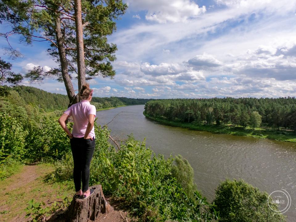 Rzeka Niemen na Litwie - najlepsze punkty widokowe w Kownie