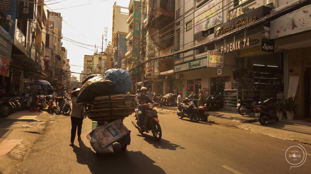 Sajgon w Wietnamie