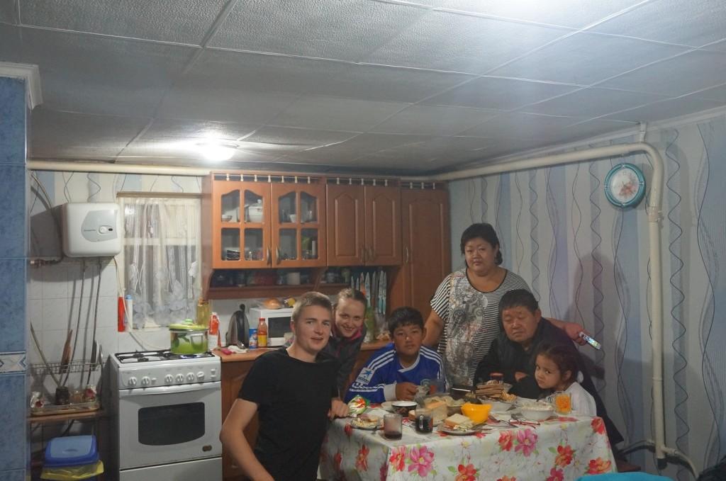 Cała rodzina Artioma