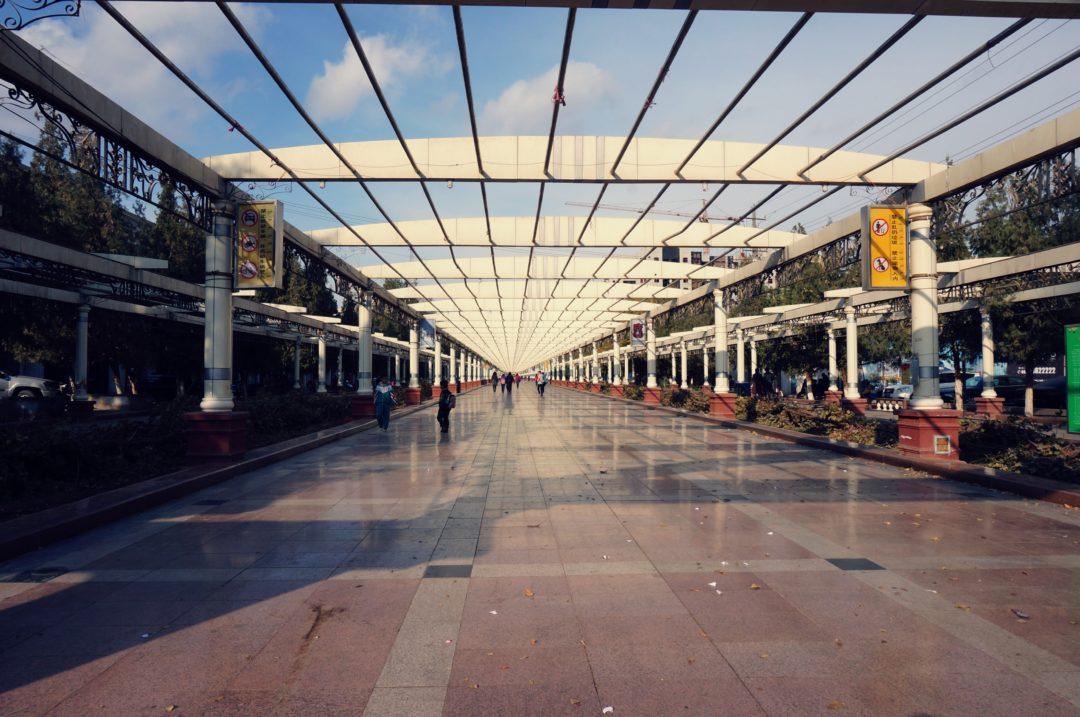 Główna ulica miasta