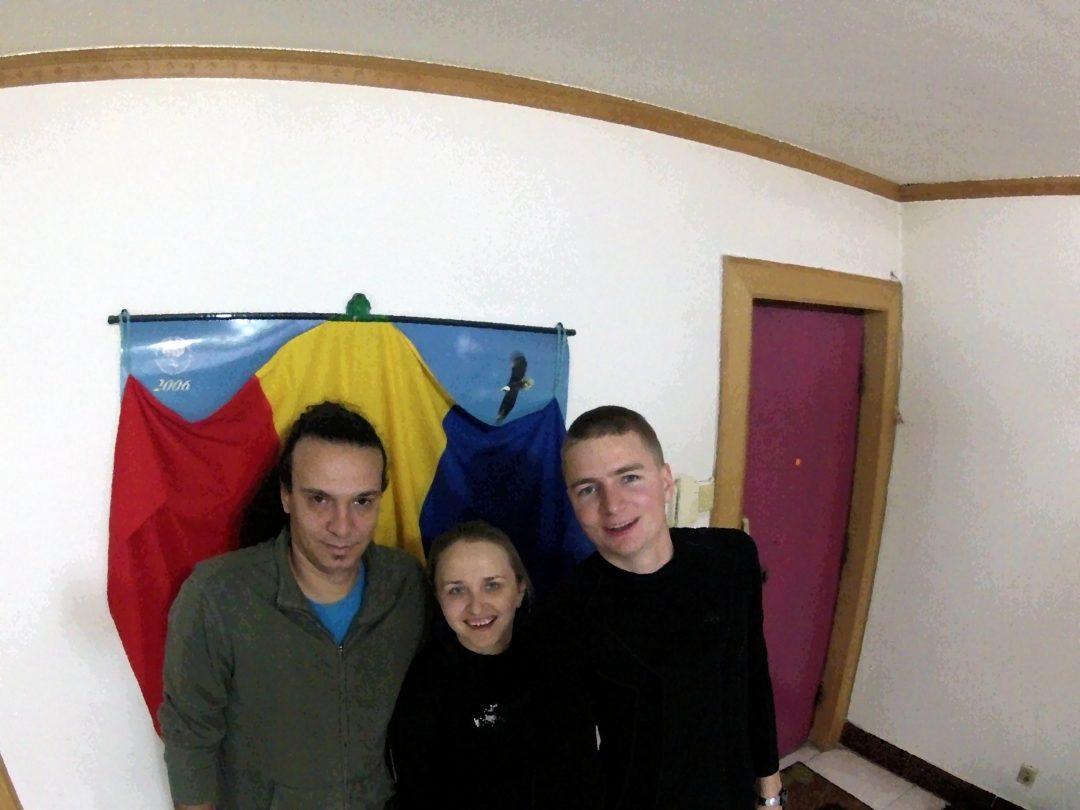 Z naszym hostem Liviu