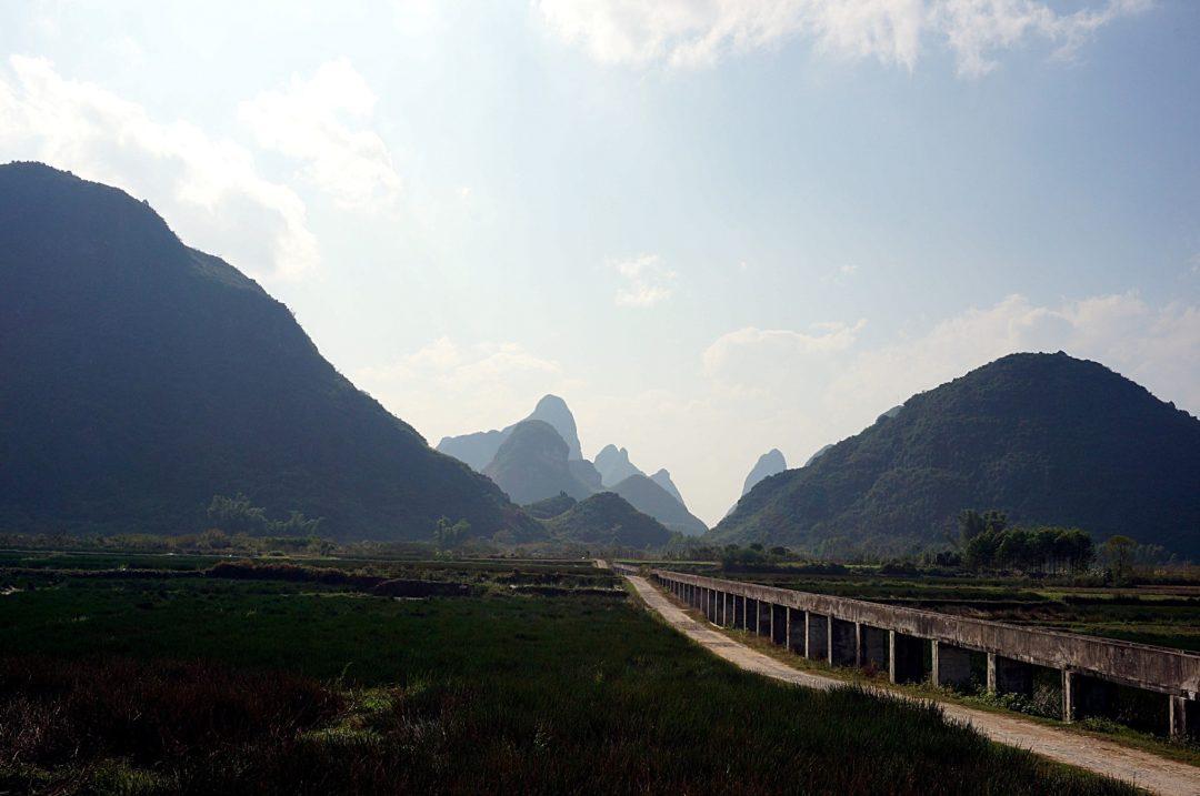 Droga do Yangshuo