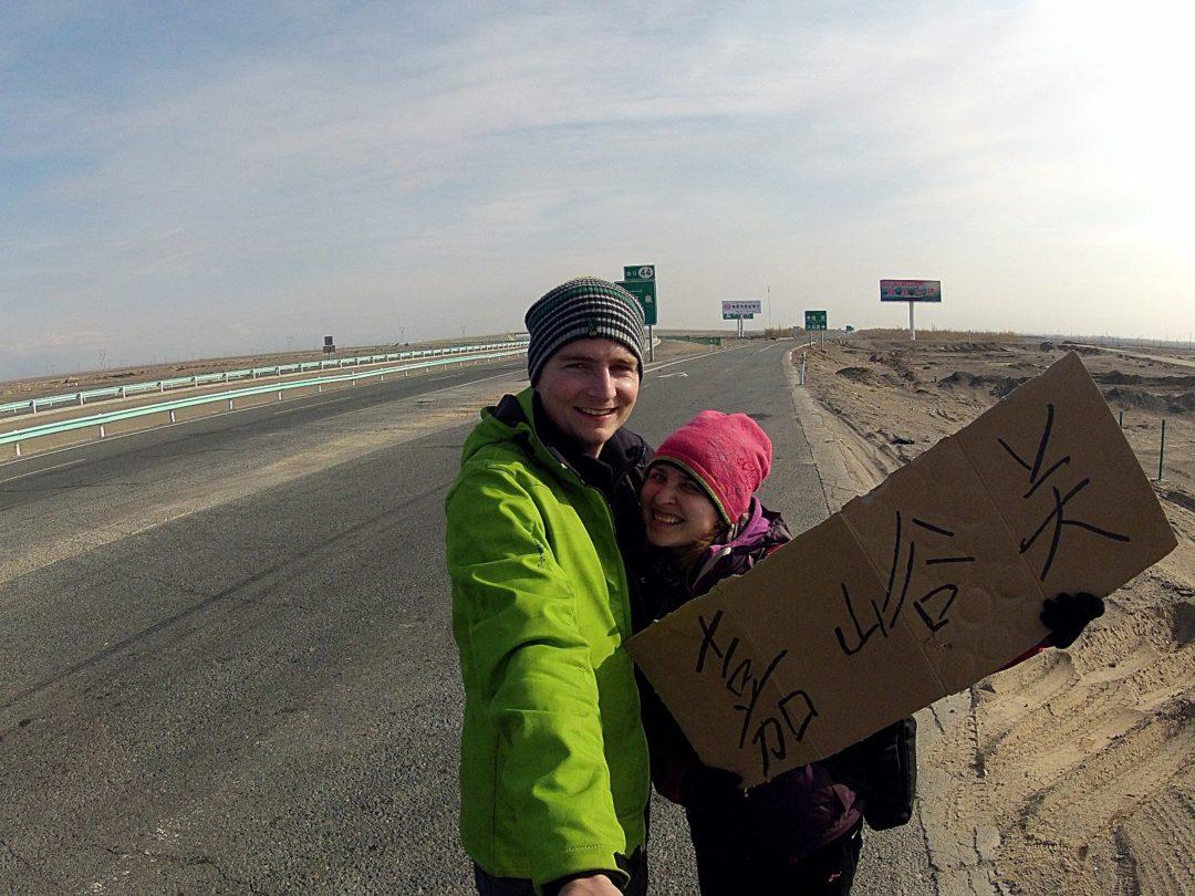 Autostop w zachodnich Chinach
