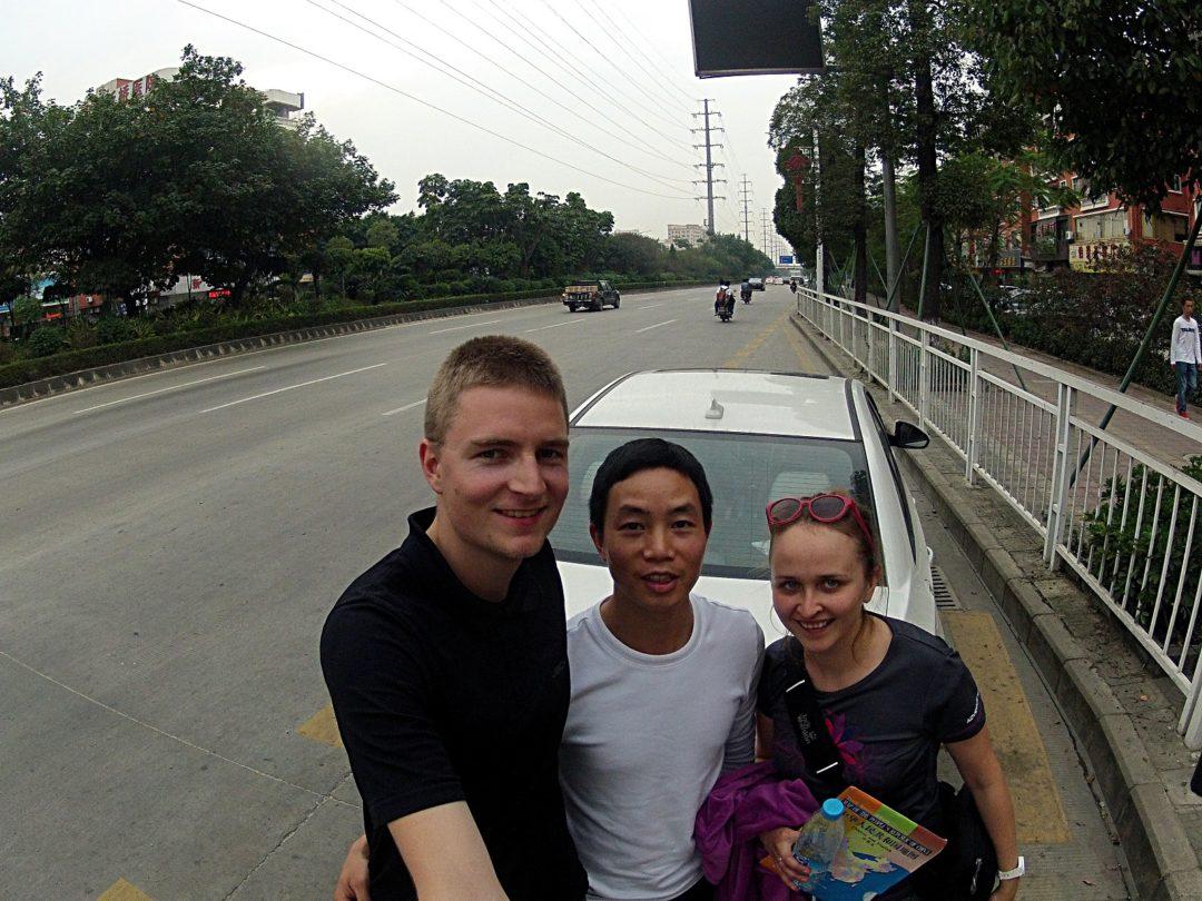 Z kierowcą do Shenzhen