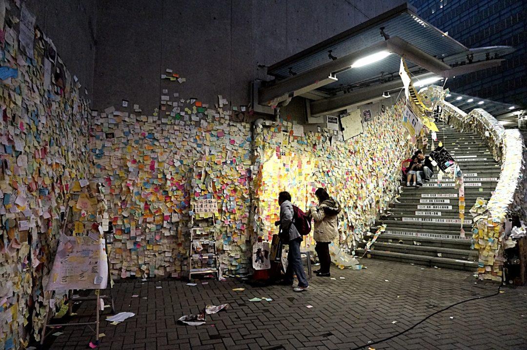 Parasolkowa Rewolucja w Hong Kongu - Na Nowej Drodze Życia