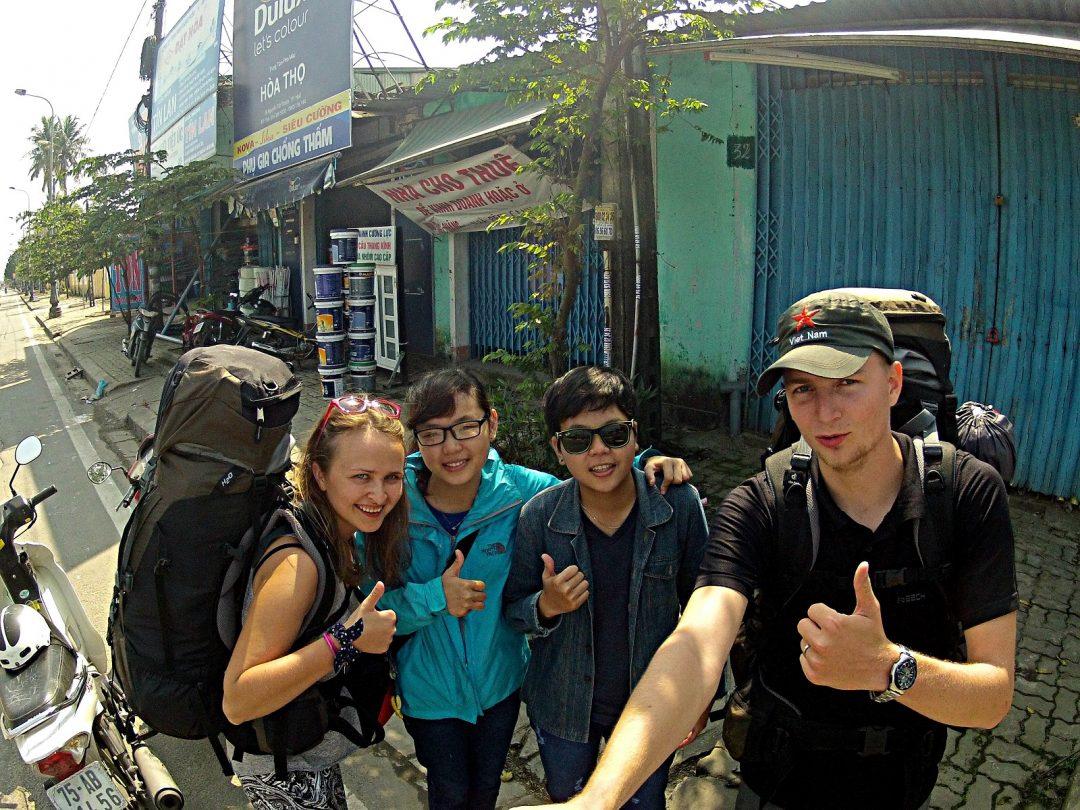Autostop w Wietnamie