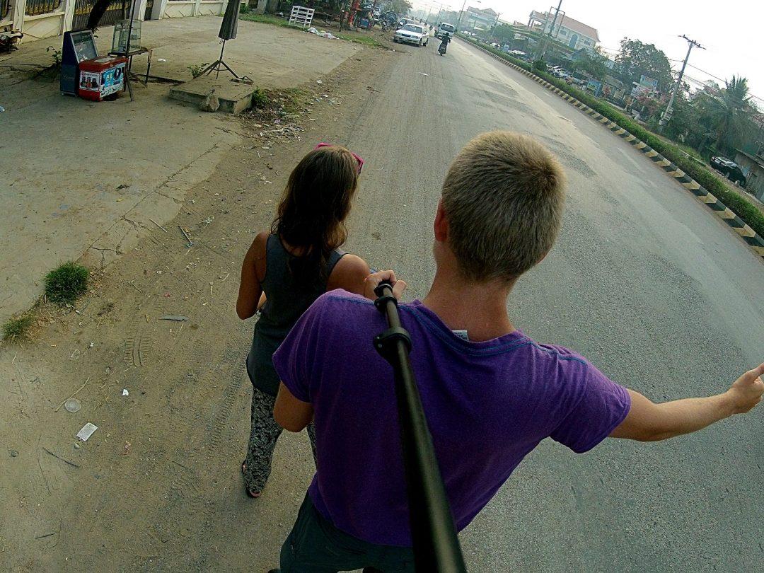 Autostop w Kambodży - Na Nowej Drodze Życia