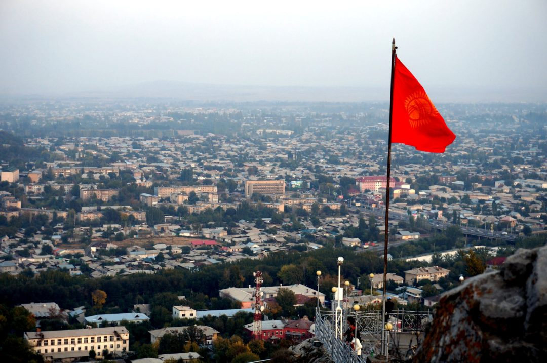 Osz - Kirgistan. Autotop w Kirgistanie - Na Nowej Drodze Życia