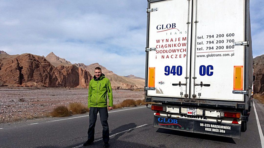 Autotop Kirgistan - Na Nowej Drodze Życia. Polski akcent na granicy kirgisko- chińskiej