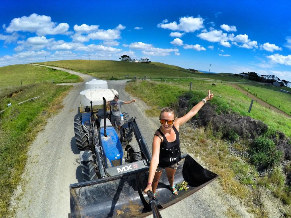 Autostopowa podróż - Na Nowej Drodze Życia