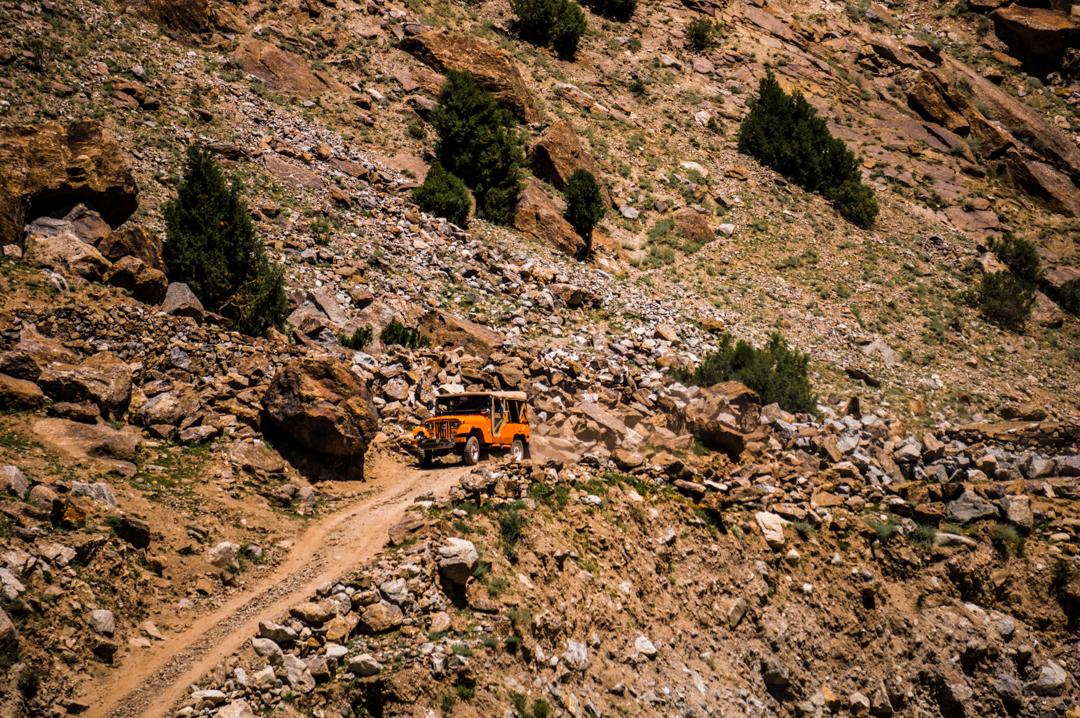 Najniebezpieczniejsza droga na świecie - Na Nowej Drodze Życia