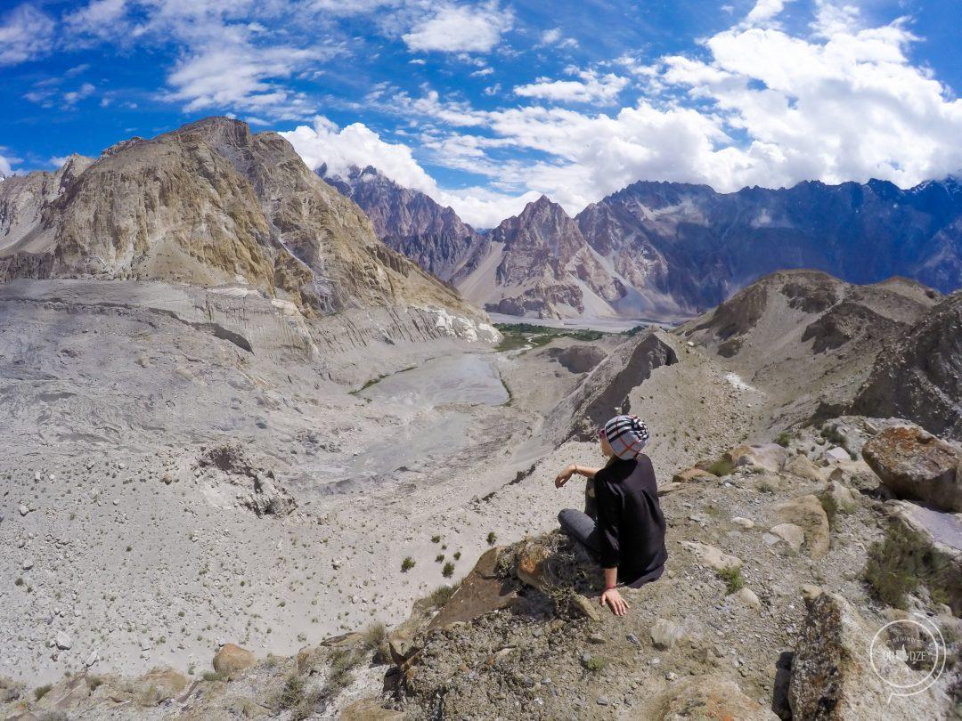 Passu Glacier Pakistan - Na Nowej Drodze Życia