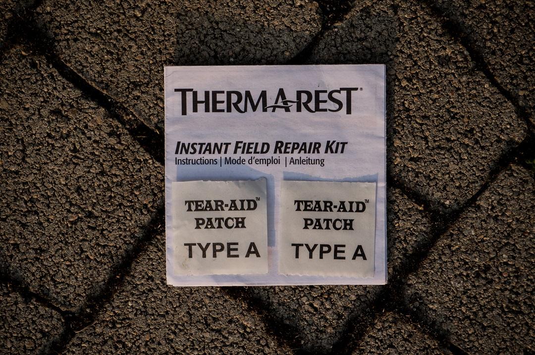 Zestaw naprawczy Therm a Rest Instant Field Repair Kit