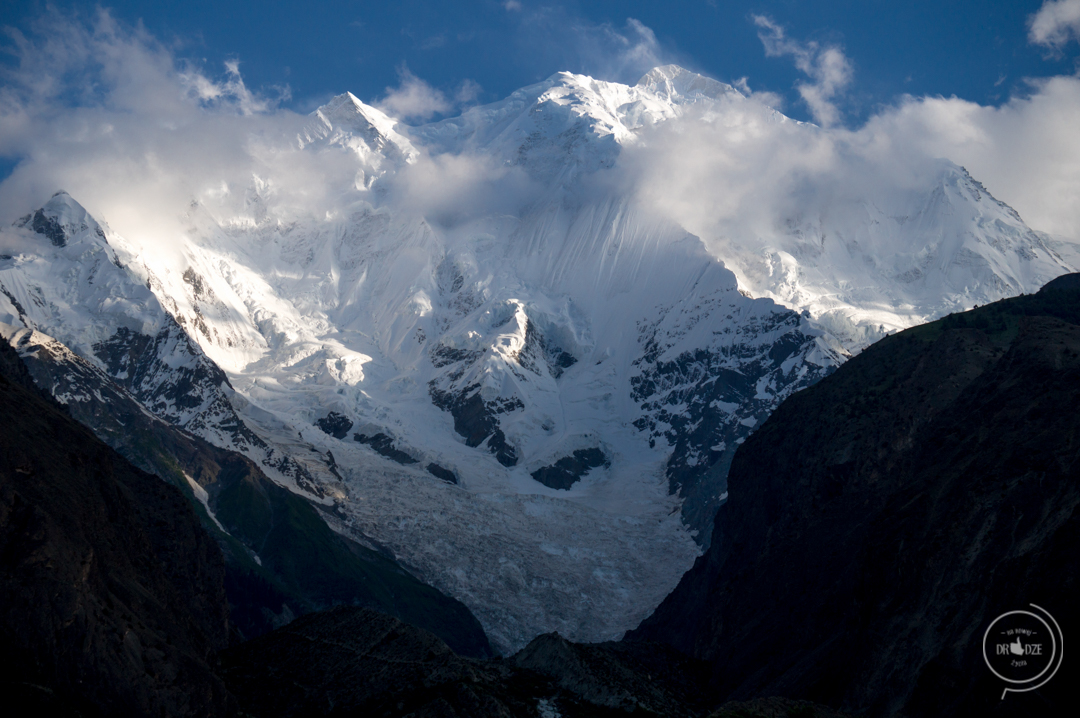 Pakistan co zobaczyc -Rakaposhi Peak