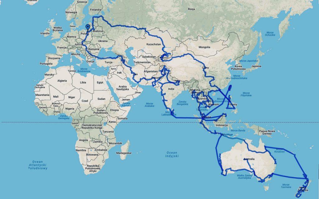 Autostopowa Podróż Przez Świat