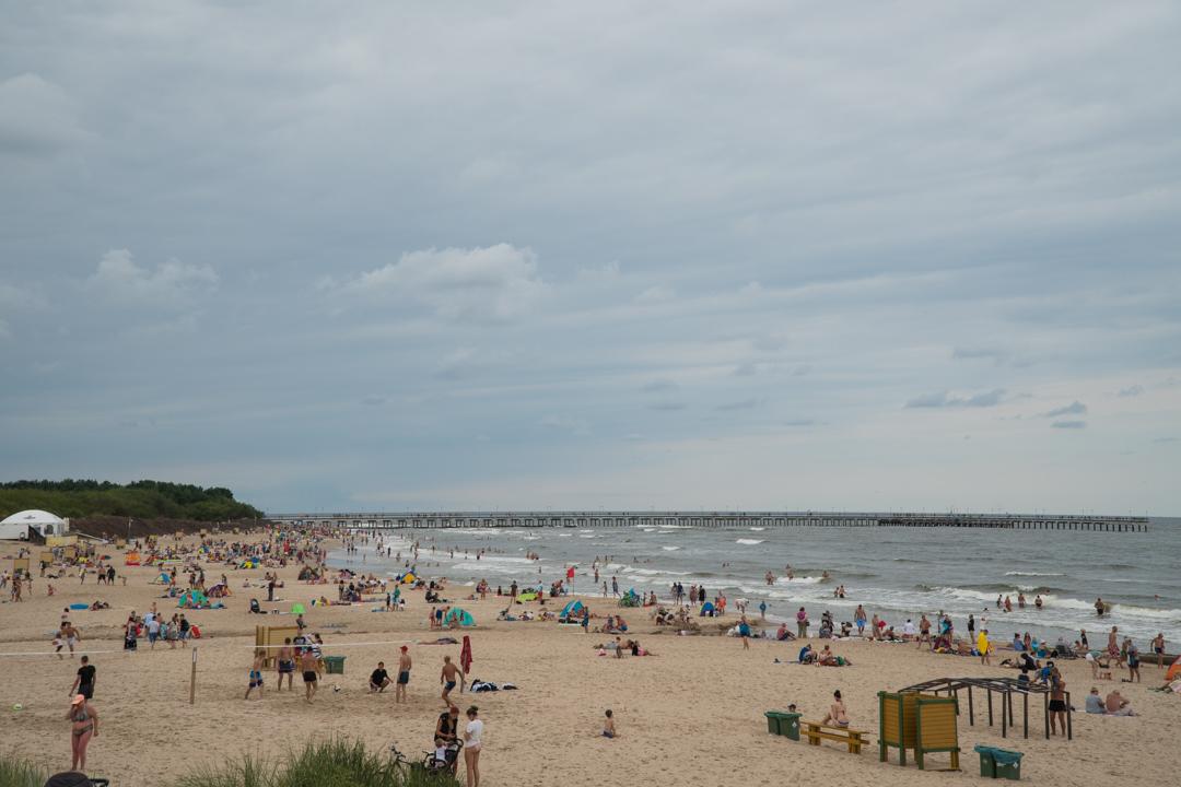 Litwa co zobaczyć - Palanga plaża - Na Nowej Drodze Życia