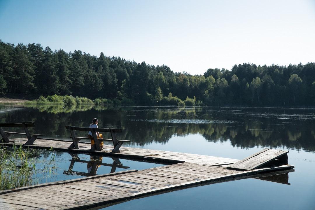 Litwa co zobaczyć - jezioro Kastinis - Na Nowej Drodze Życia