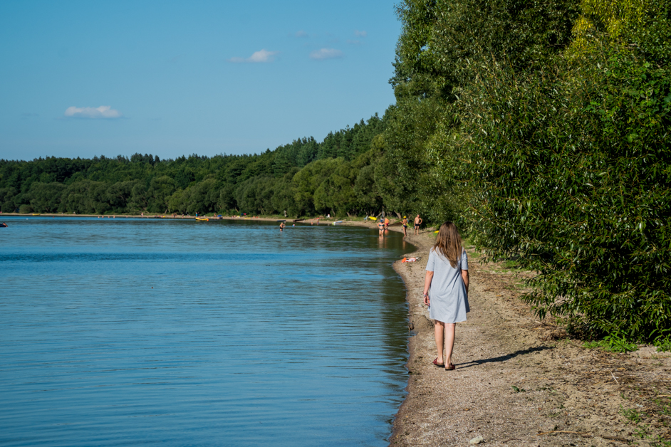 Litwa co zobaczyć - jezioro Dusia