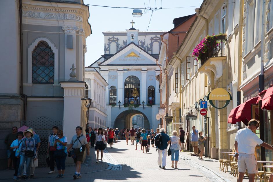 Litwa co zobaczyć - Wilno- Na Nowej Drodze Życia